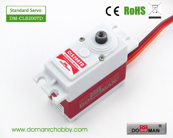 CLS200TD Titanium Gear HV 20kg Coreless Digital Servo