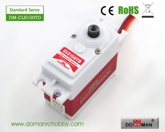 CLS150TD Titanium Gear HV 15kg Coreless Digital Servo