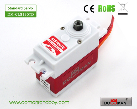 CLS130TD Titanium Gear HV 13kg Coreless Digital Servo