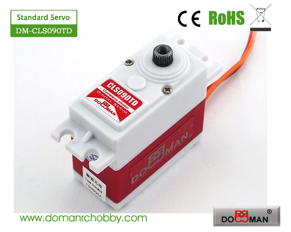 CLS090TD Titanium Gear HV 9kg Coreless Digital Servo