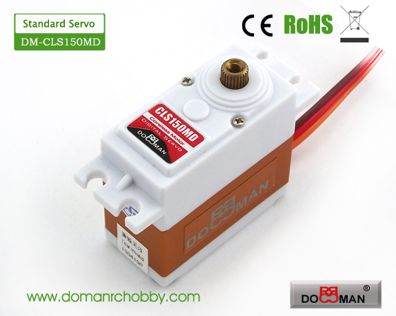 CLS150MD Metal Gear HV 15kg Coreless Digital Servo