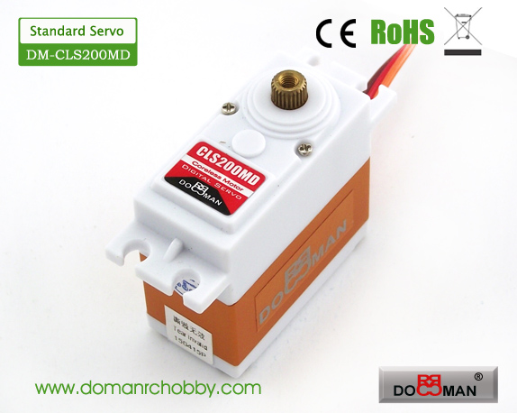 CLS200MD Metal Gear HV 20kg Coreless Digital Servo