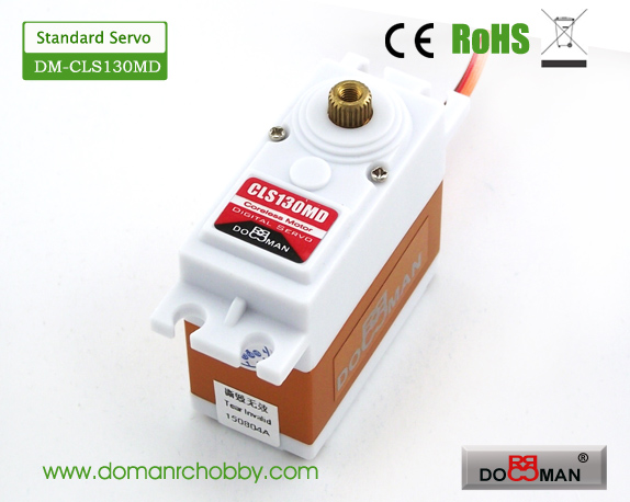 CLS130MD Metal Gear HV 13kg Coreless Digital Servo