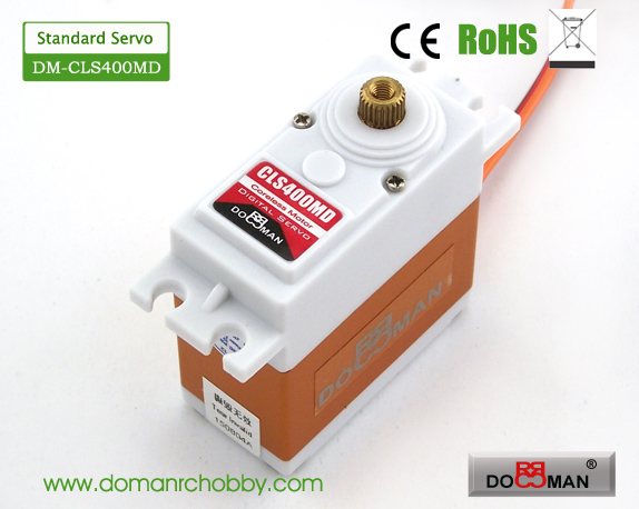 CLS400MD Metal Gear standard 40kg Coreless Digital Servo