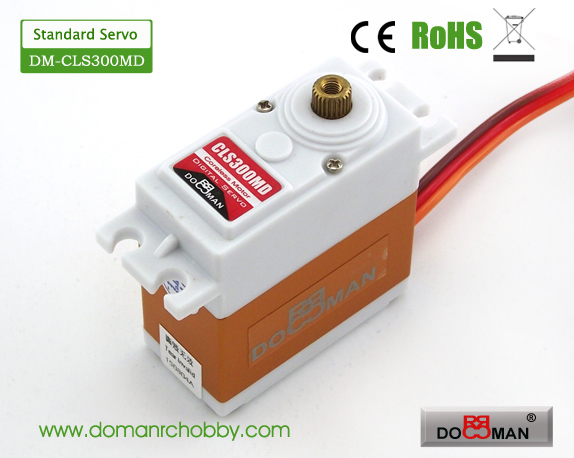 CLS300MD Metal Gear standard 30kg Coreless Digital Servo