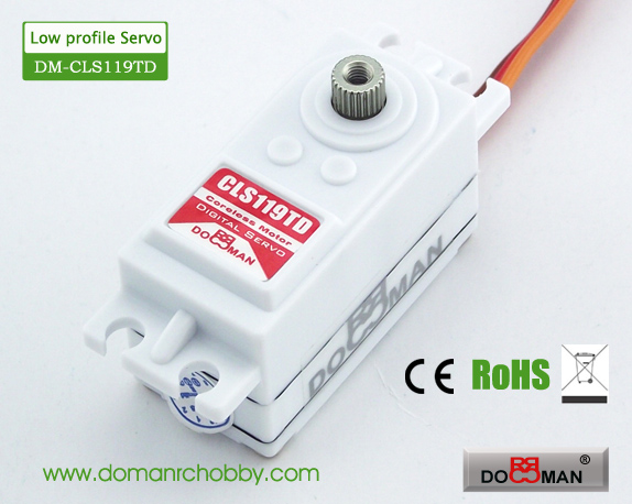 CLS119TD Titanium Gear 9kg Coreless Digital Servo