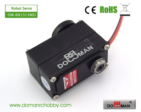 DM-RS1513MD Metal Gear 15kg 270degree low profile Robotics Servo