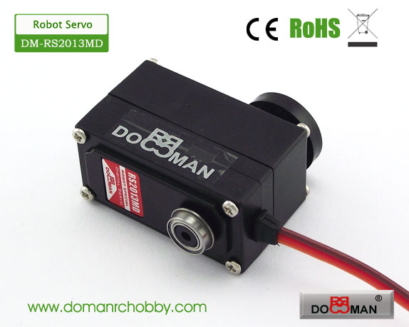 DM-RS2013MD Metal Gear 20kg low profile 270degree Robotics Servo
