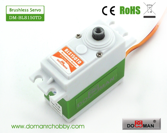 BLS150TD Titanium Gear 15kg Brushless Digital Servo