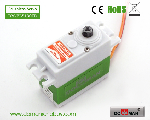 BLS130TD Titanium Gear 13kg Brushless Digital Servo