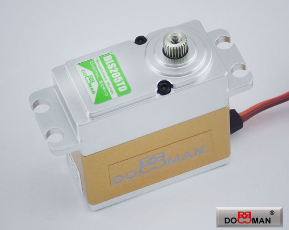 BLS205TD FMC Titanium Gear 20kg Brushless Digital Servo