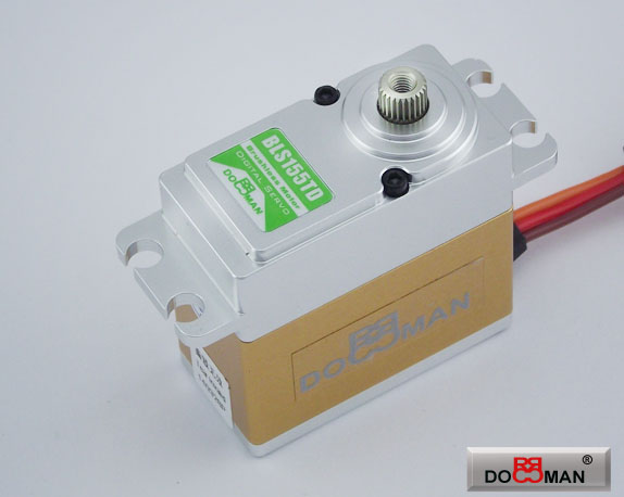 BLS155TD FMC Titanium Gear 15kg Brushless Digital Servo