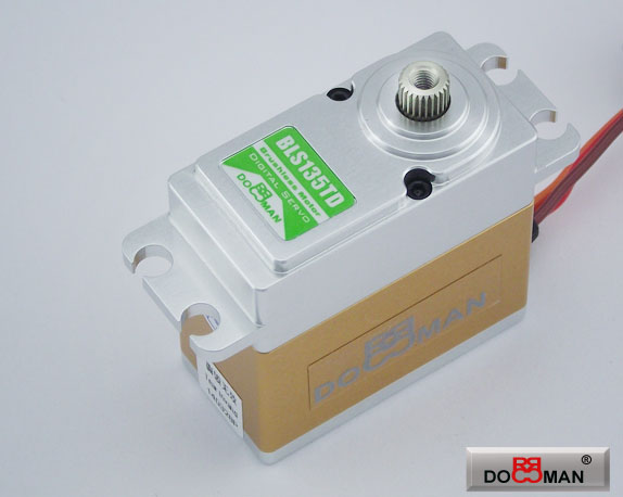 BLS135TD FMC Titanium Gear 13kg Brushless Digital Servo