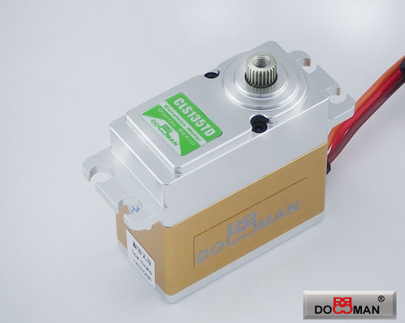 CLS135TD FMC Titanium Gear 13kg Coreless Digital Servo