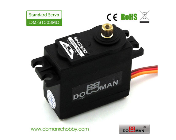 S1503MD metal gear 270degree 15kg digital servo
