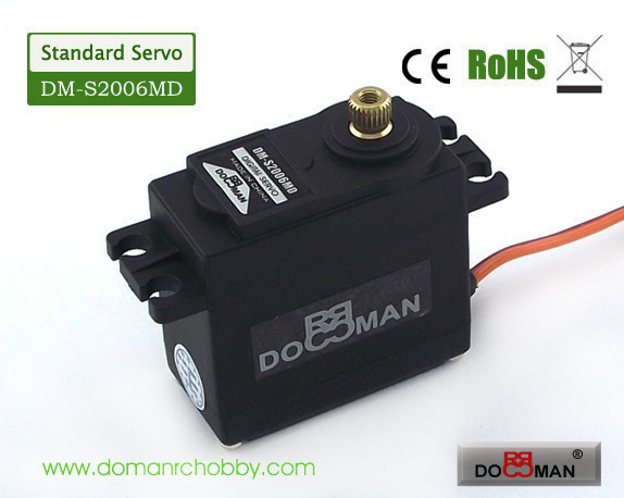 S2006MD metal gear 360degree 20kg digital servo