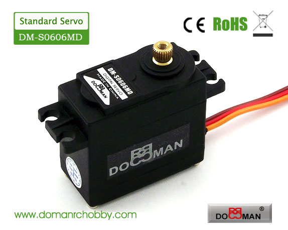 S0606MD metal gear 360degree 6kg digital servo