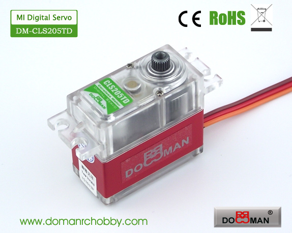 CLS205TD Magnetic Induction 20kg Coreless Digital Servo rc servo robot servo