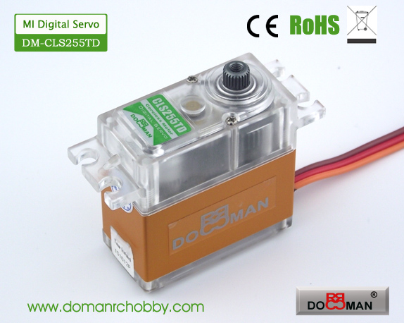 CLS255TD Magnetic Induction 25kg Coreless Digital Servo rc servo robot servo