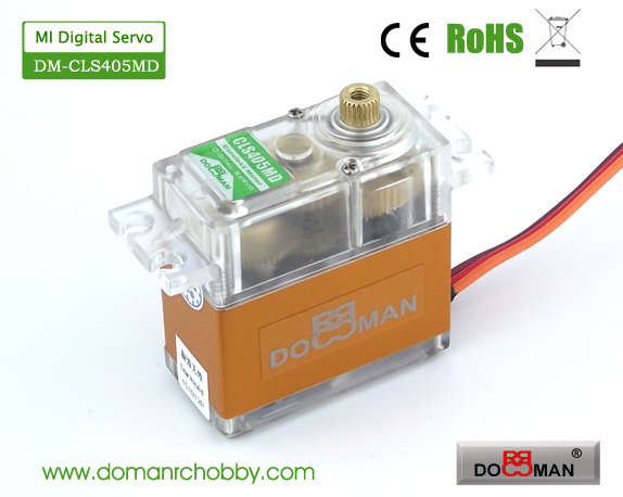 CLS405MD Magnetic Induction 40kg Coreless Digital Servo rc servo robot servo